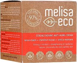 Parfums et Produits cosmétiques Crème à l'huile de ricin pour visage - Melisa Eco