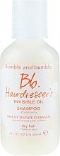 Parfums et Produits cosmétiques Shampooing à l'huile d'amande douce - Bumble And Bumble Hairdresser's Invisible Oil Sulfate Free Shampoo Travel Size
