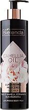 Parfums et Produits cosmétiques Lotion aux huiles de camélia et babassu pour corps - Bielenda Camellia Oil Luxurious Body Milk