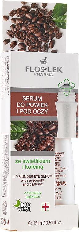 Sérum végan à la caféine pour visage - Floslek Eye Care Serum
