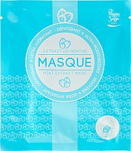 Parfums et Produits cosmétiques Masque tissu à l'extrait de menthe pour visage - Peggy Sage Ultra-moisturizing Mask