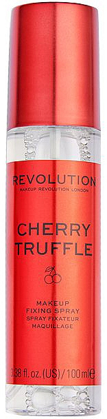 Spray fixateur de maquillage - Makeup Revolution Precious Stone Cherry Truffle Makeup Fixing Spray — Photo N1