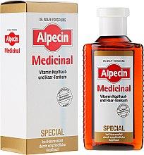 Parfums et Produits cosmétiques Lotion tonique anti-chute pour cuir chevelu sensible - Alpecin Medicinal Special Vitamin Scalp And Hair Tonic