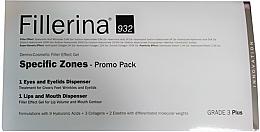 Parfums et Produits cosmétiques Fillerina Grade 3+ - Coffret (gel pour lèvres/7ml + gel contour des yeux/15ml)