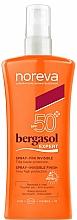Parfums et Produits cosmétiques Spray solaire à l'huile de dattier du désert pour corps - Noreva Bergasol Expert Spray Invisible Finish SPF50+