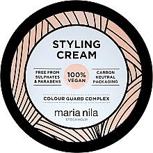 Parfums et Produits cosmétiques Crème coiffante à tenue moyenne, sans paraben et sans sulfates - Maria Nila Styling Cream