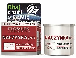 Parfums et Produits cosmétiques Crème apaisante à l'arnica pour visage (recharge) - Floslek Dilated Capillaries Moisturizing Cream Refill