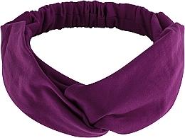 Parfums et Produits cosmétiques Bandeau pour cheveux, violet, Knit Twist - MakeUp Hair Accessories