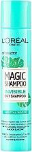 Parfums et Produits cosmétiques Shampooing sec - L'Oreal Paris Magic Shampoo Invisible Dry Shampoo Vegetal Boost