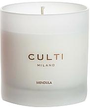 Parfums et Produits cosmétiques Bougie parfumée, amandes - Culti Milano Bianco Mendula