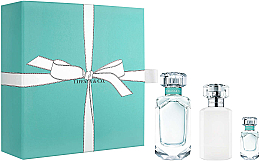 Parfums et Produits cosmétiques Tiffany Tiffany & Co - Coffret (eau de parfum/75ml + eau de parfum/5ml + lotion corps/100ml)