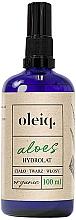 Parfums et Produits cosmétiques Hydrolat pour visage, corps et cheveux Aloe vera - Oleiq Hydrolat Aloe