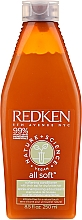 Parfums et Produits cosmétiques Après-shampooing à la sève de bouleau - Redken Nature + Science All Soft Softening Conditioner