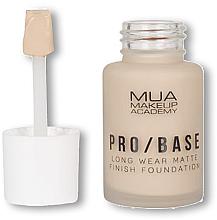 Parfums et Produits cosmétiques Fond de teint matifiant - MUA Pro Base Long Wear Matte Finish Foundation