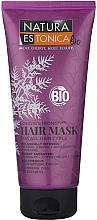 Parfums et Produits cosmétiques Masque à l'huile d'argan bio pour cheveux - Natura Estonica Long'n'Strong Hair Mask