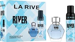 Parfums et Produits cosmétiques La Rive River Of Love - Set (eau de parfum/100ml + déodorant/150ml)