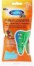Parfums et Produits cosmétiques Porte-fils dentaires à l'arôme de fruits - DenTek Kids Fruit Fun Flossers