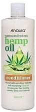 Parfums et Produits cosmétiques Après-shampooing à l'huile de chanvre - Anovia Hemp Oil Conditioner Restores and Hydrates