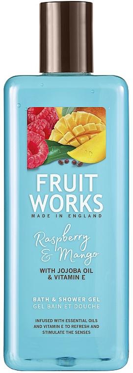Gel bain et douche Framboise et mangue - Grace Cole Fruit Works Raspberry & Mango — Photo N1