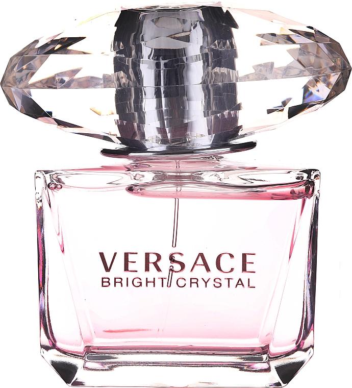 Versace Bright Crystal - Coffret (eau de toilette/90ml + eau de toilette/10ml + trousse de toilette) — Photo N4