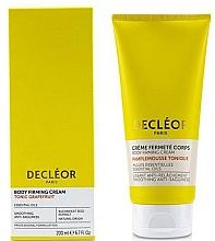 Parfums et Produits cosmétiques Crème à l'huile essentielle de pamplemousse pour corps - Decleor Tonic Grapefruit Body Firming Cream