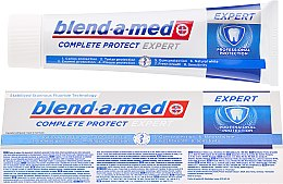 Parfums et Produits cosmétiques Dentifrice - Blend-a-med Complete Protect Expert Professional Protection Toothpaste