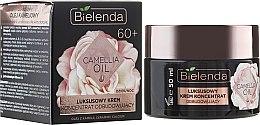 Parfums et Produits cosmétiques Crème-concentré de jour et nuit à l'huile de camélia et céramides - Bielenda Camellia Oil Luxurious Rebuilding Cream 60+