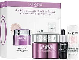 Parfums et Produits cosmétiques Lancome Renergie Multi-Glow Routine Set - Coffret (crème pour visage/50ml + concentré pour visage/7ml + lait démaquillant/50ml)