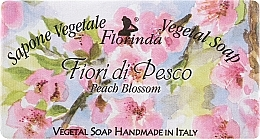 Parfums et Produits cosmétiques Savon végétal, Fleurs de pêche - Florinda Sapone Vegetal Soap Peach Blossom