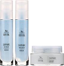 Parfums et Produits cosmétiques SM Collection Crystal Sapphire - Set (crème de jour/50ml + crème de nuit/50ml + masque pour visage/100ml)