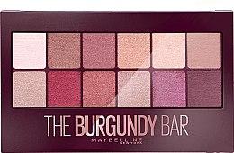 Parfums et Produits cosmétiques Palette de fards à paupières - Maybelline The Burgundy Bar Palette