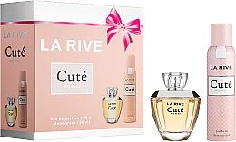 Parfums et Produits cosmétiques La Rive Cute Woman - Set (eau de parfum/100ml + déodorant/150ml)