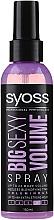 Parfums et Produits cosmétiques Spray brushing volumisant - Syoss Big Sexy Volume Blow Dry Spray