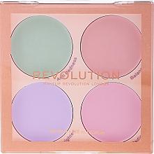 Parfums et Produits cosmétiques Palette de correcteurs matifiants - Makeup Revolution Matte Base Corrector Kit