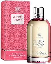 Parfums et Produits cosmétiques Molton Brown Fiery Pink Pepper Pampering Bathing Oil - Huile de bain