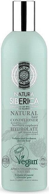 Après-shampooing à l'hydrolat de framboise arctique - Natura Siberica Natura And Organic Volume And Freshness Conditioner — Photo N1