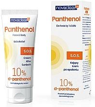 Parfums et Produits cosmétiques Crème après-soleil au D-panthénol pour visage et corps - Novaclear Panthenol S.O.S Face Body Cream After Sunbath