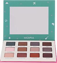 Parfums et Produits cosmétiques Palette d'ombres à paupières - Moira Happy Go, Fly, Travel Shadow Palette
