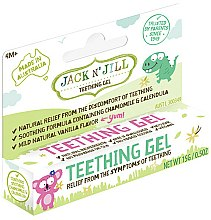 Parfums et Produits cosmétiques Gel gingival poussées dentaires - Jack N' Jill Natural Teething Gel