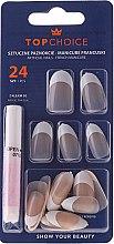 Parfums et Produits cosmétiques Kit de faux ongles avec colle French, 74141 - Top Choice