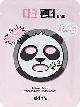 Parfums et Produits cosmétiques Masque tissu à l'extrait de jojoba pour visage - Skin79 Animal Mask For Dark Panda
