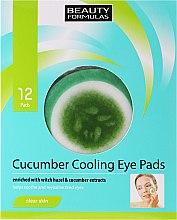 Parfums et Produits cosmétiques Patchs à l'extrait de concombre sous les yeux - Beauty Formulas Cucumber Cooling Eye Pads