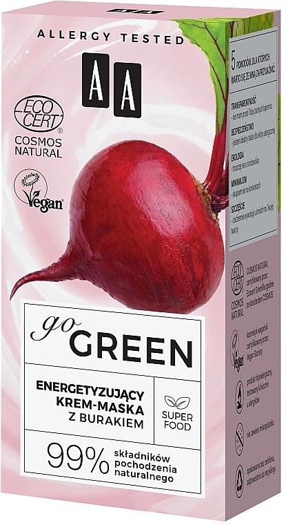 Crème-masque à l'extrait de betterave pour visage - AA Go Green — Photo N4