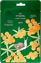 Parfums et Produits cosmétiques Masque tissu énergisant à la bave d'escargot pour visage - Skin79 The Vitaful Snail Mask