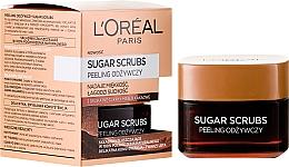 Parfums et Produits cosmétiques Gommage au beurre de cacao pour visage et lèvres - L'Oreal Paris Sugar Scrubs
