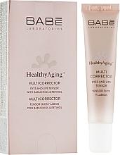 Parfums et Produits cosmétiques Crème au rétinol contour des yeux et des lèvres - Babe Laboratorios Healthy Aging Multi Corrector