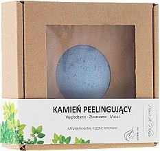 Parfums et Produits cosmétiques Pierre exfoliant d'argile pour visage, bleu - Pierre de Plaisir Natural Scrubbing Stone Face