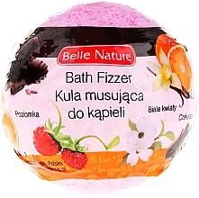Parfums et Produits cosmétiques Bombe de bain effervescente, rose - Belle Nature