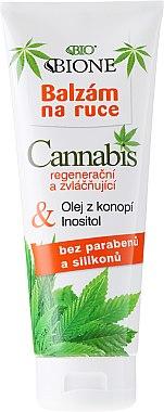 Baume à l'huile de chanvre pour mains - Bione Cosmetics Cannabis Hand Balm
