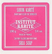 Parfums et Produits cosmétiques Savon arôme fleur de cerisier - Institut Karite Fleur de Cerisier Shea Soap